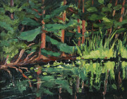 "Bon Echo ""River Sights"" (plein air)"