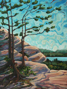Booth's Rock Trail Lookout Algonquin (sold)