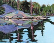 Calm Waters (plein air)