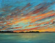 """Day is Done"", Huron Skies (sold)"