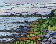 View from Jack's Cottage (Bruce Peninsula) (sold)