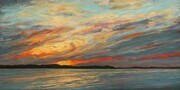 Another Beautiful Sunset (Lyal Island, Lake Huron) (sold)