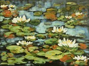 water lilies (sold)