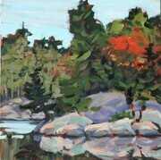 Quiet Moment (plein air)