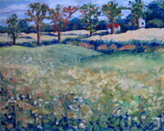 September Country View  (plein air) (sold)