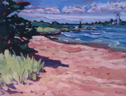 Southampton Beach (plein air) (sold)
