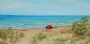 Swimming at Lake Huron (sold)