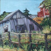 The Old Slaughter House (plein air) (sold)